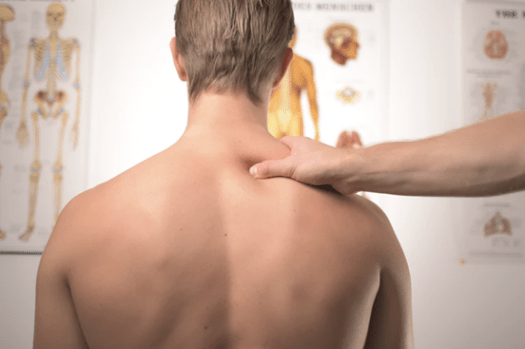 """""""shoulder assessment by physiotherapist for cortisone injections"""""""